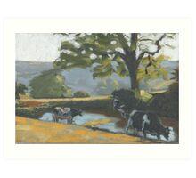 Brimley Farm Art Print