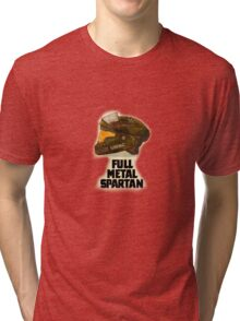 Halo: Full Metal Spartan Tri-blend T-Shirt