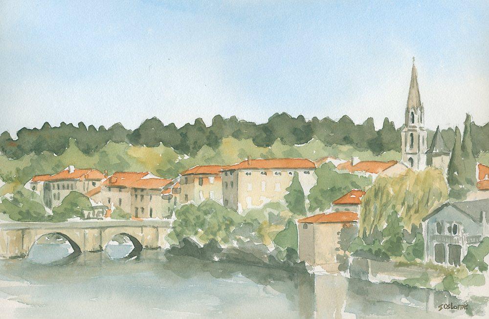 Confolens, France by ian osborne