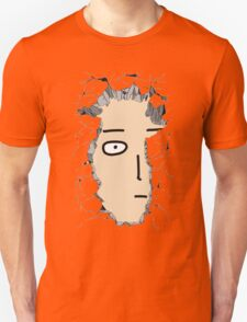 One Punch Man in the Wall T-Shirt
