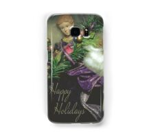 Happy Holidays Angel 1 Samsung Galaxy Case/Skin