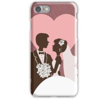 Wedding invitation design. iPhone Case/Skin
