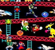 1980s Arcade Heroes Sticker