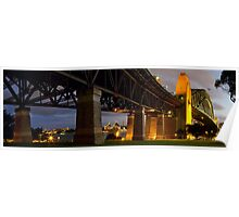 Sydney Harbour Bridge and Opera House Poster