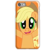 Applejack Hug iPhone Case/Skin
