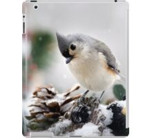 Playful Titmouse iPad Case/Skin