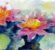 Water lilies by Ivana Pinaffo