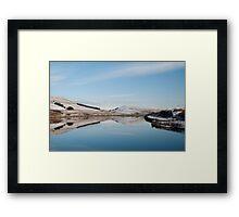 Woodhead Reservoir  Framed Print
