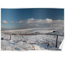 Woodhead in the snow 03 Poster