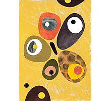 50s 60s style retro colourful design Photographic Print