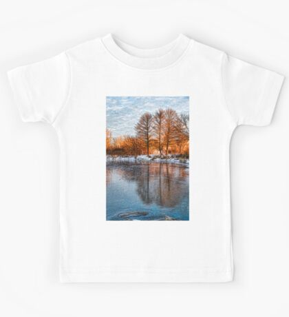 Cold Ice Trio - Lake Ontario Impressions Kids Tee