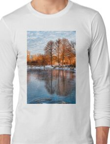 Cold Ice Trio - Lake Ontario Impressions Long Sleeve T-Shirt