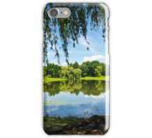 Summer in the Park Landscape iPhone Case/Skin