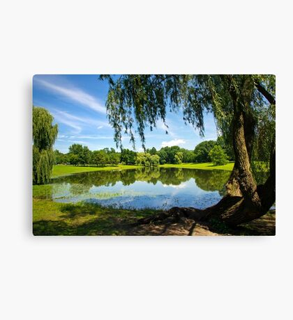 Summer in the Park Canvas Print