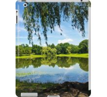 Summer in the Park Landscape iPad Case/Skin