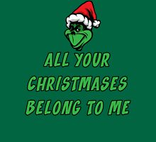 All Your Christmases Belong To Me T Shirt Womens Fitted T-Shirt