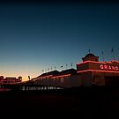 Weston-super-Mare's Grand Pier by Simon Marsden