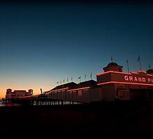 Weston-super-Mare's Grand Pier by Simon Marsden