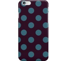 Purple and Green Polka Dots iPhone Case iPhone Case/Skin