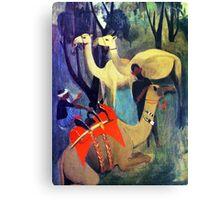 Desert Safari Canvas Print
