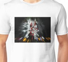 Abstract Christmas Lights - Color Streaks  Unisex T-Shirt