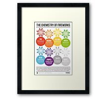 The Chemistry of Fireworks Framed Print