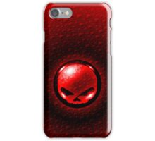 Harley Davidson Design - Red/Black  iPhone Case/Skin