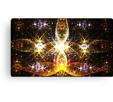 Golden Fireflies Canvas Print