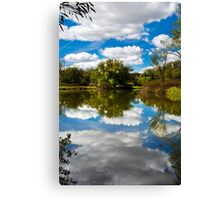 Paradise Reflection Landscape Canvas Print