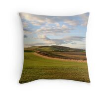 Rural Northumberland. Throw Pillow