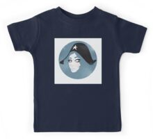 Girl in a Hat Kids Tee