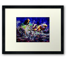 The Queen in Southern Sea  ~ Legendary Spirit Framed Print