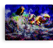 The Queen in Southern Sea  ~ Legendary Spirit Canvas Print