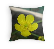 Very Tiny Beauty Throw Pillow