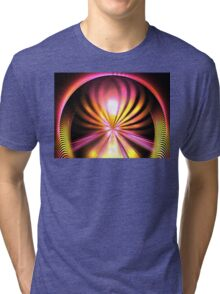 Sunshine Lotus Tri-blend T-Shirt