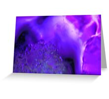 Purple delight - JUSTART © Greeting Card