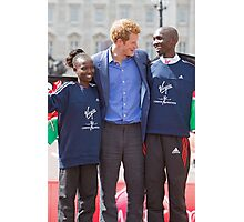 The Gold Medallist winners with Prince Harry Photographic Print