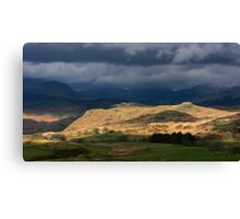Cumbria: Light & Land Canvas Print