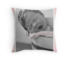 Congratulations it's a girl! Throw Pillow