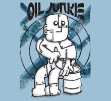 Oil Junkie - Vintage by Paul Webster