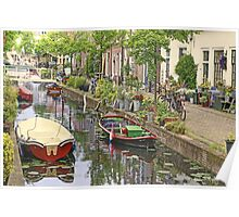 And again..a Touch of Impressionism ..Leiden in Holland Poster