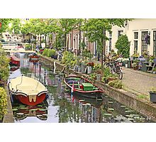 And again..a Touch of Impressionism ..Leiden in Holland Photographic Print