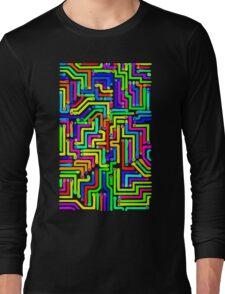 Colorful Circuit Board 1 Long Sleeve T-Shirt