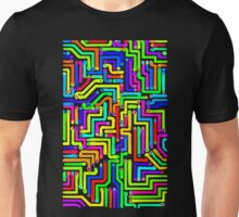 Colorful Circuit Board 1 Unisex T-Shirt