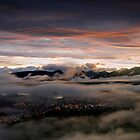 Keswick Lights from Latrigg Summit by Martin Lawrence