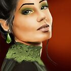 Lady in green by Kagara