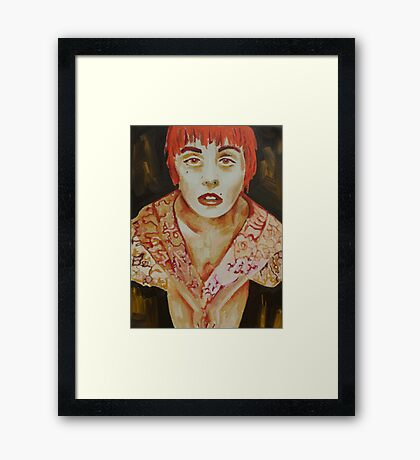 Lucid Individuality Framed Print