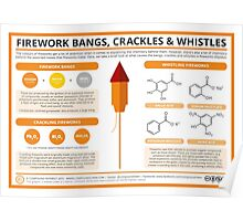 The Chemistry of Fireworks: Bangs, Crackles & Whistles Poster