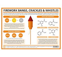 The Chemistry of Fireworks: Bangs, Crackles & Whistles Photographic Print