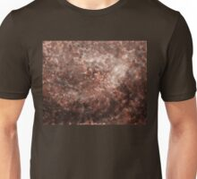 Brown Decorative Abstract Unisex T-Shirt